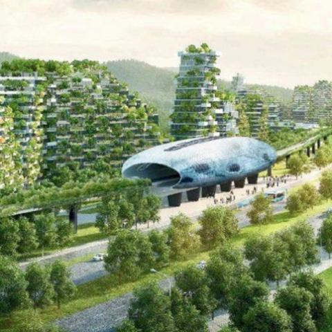 285 эко-городов могут появиться в Китае