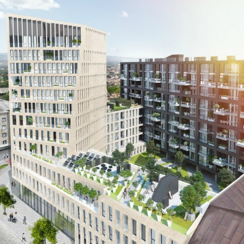 Парки на крышах и другие изюминки: 6 нестандартных новостроек Львова