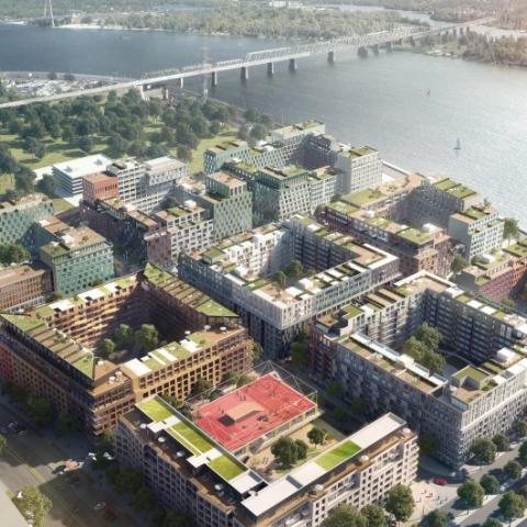6 жилых комплексов Киева