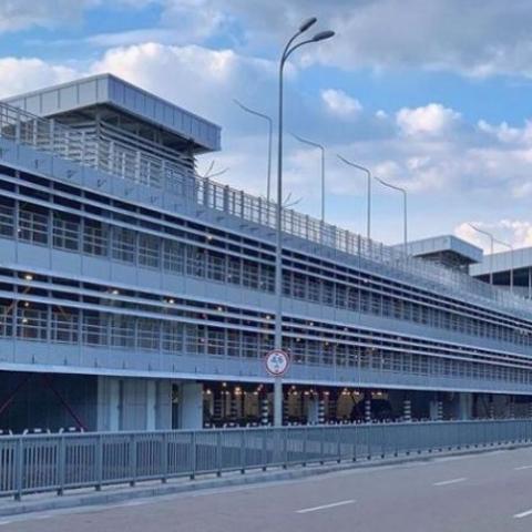 Аэропорт «Борисполь» начал тестирование многоуровневой парковки