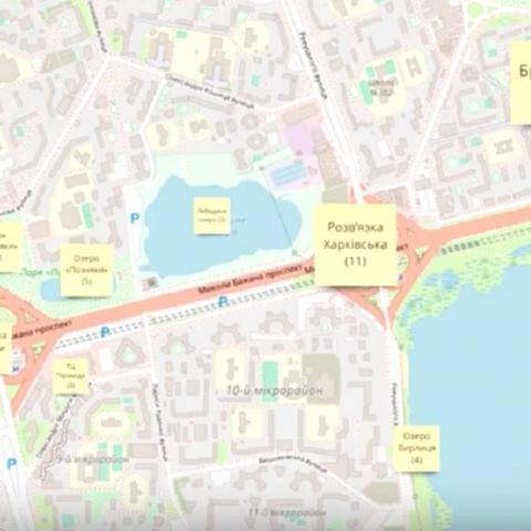 «Агенти змін» завершили исследование пешеходной зоны на Харьковском массиве