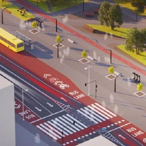 Архитекторы презентовали проект будущей smart-улицы в Киеве
