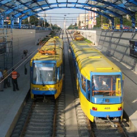 Борщаговскую линию трамвая направят в центр
