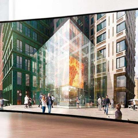 Ультратонкий телевизор в подарок. CHICAGO Central House начал акцию для покупателей
