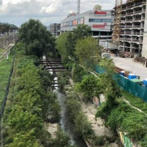 Частину річки Либідь планують закрити і збудувати на ній шосе