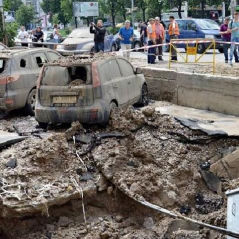 Что послужило причиной аварии на Голосеевском проспекте
