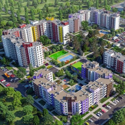 Что повлияло на стоимость квартир в новостройках пригорода Киева в апреле
