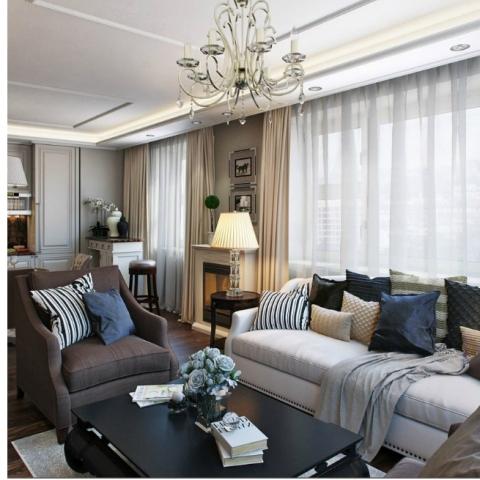 Дизайн узкой комнаты. 5 полезных советов
