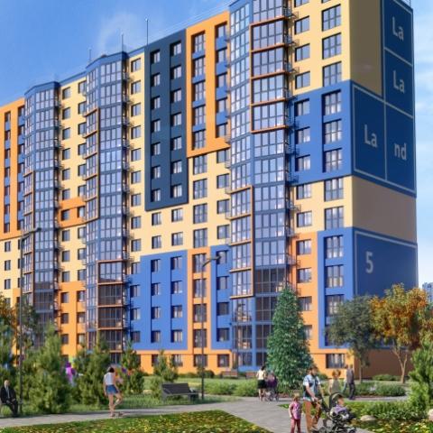 Дом рядом с крупным торговым кластером: все нюансы строительства ЖК «ЛаЛаЛенд» в Берковцах