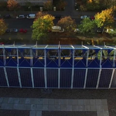 Гибридная экологичная электростанция для многоэтажек