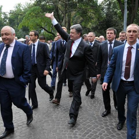 Госуправление делами подарило квартиру в центре Киева охраннику Порошенко