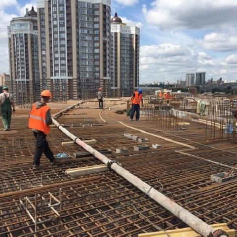 Ход строительства столичного ЖК «Mirax»