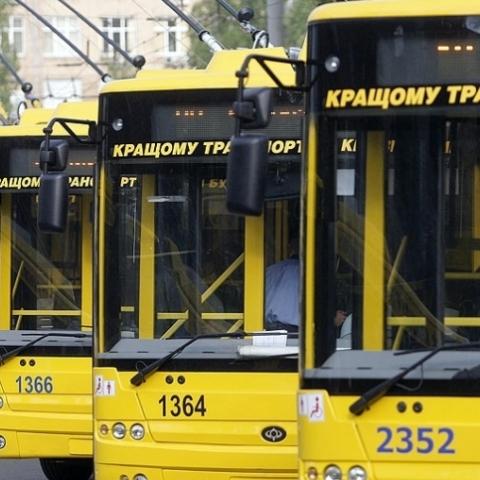 Как будет ходить транспорт на День независимости в Киеве. Карты