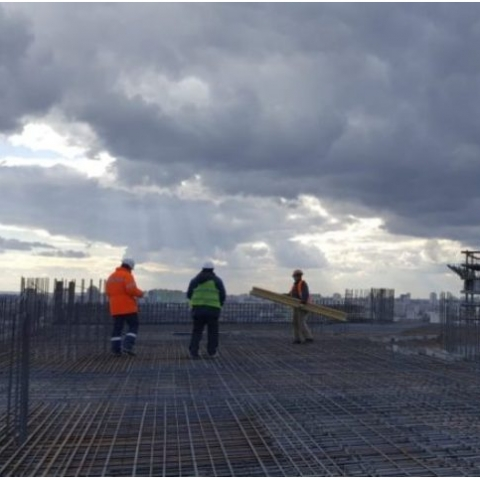Как идет строительство ЖК Manhattan city. Фото