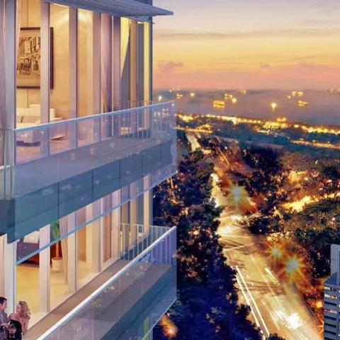 В Сингапуре продают пентхаус за 73 млн долларов