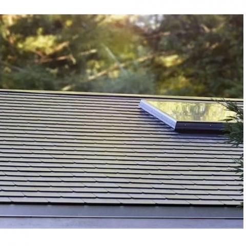 Как выглядит солнечная черепица Tesla на настоящих домах