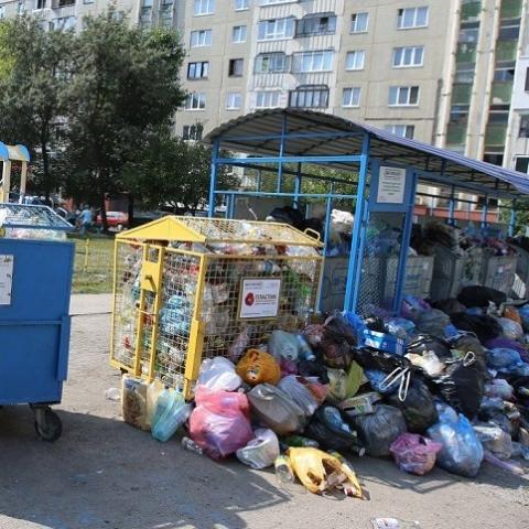 КГГА подняла тарифы на вывоз мусора