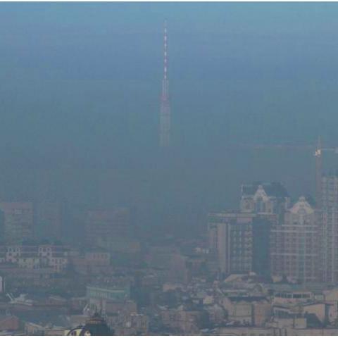 Киев накрыл ядовитый смог