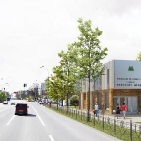 Киевcкий метрополитен приостановил тендер на строительство метро на Виноградарь