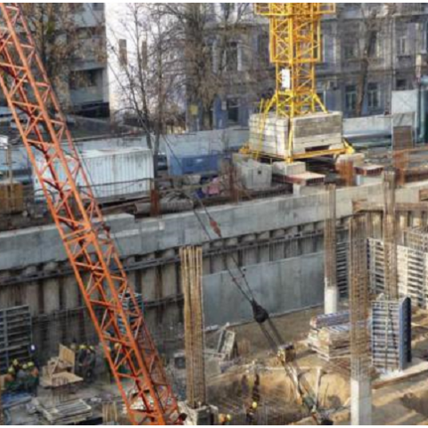 «Киевгорстрой» прекратил забастовку и возобновил строительные работы