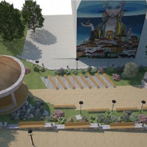Киевляне проголосовали за создание арт-сквера на Андреевском спуске