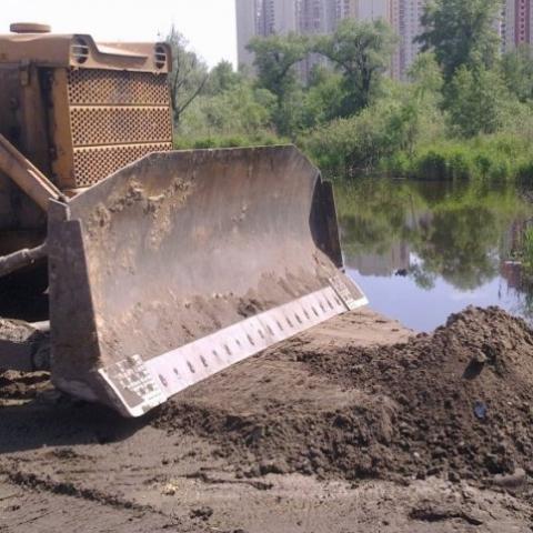 Киевсовет согласовал строительство на берегу озера Утиное