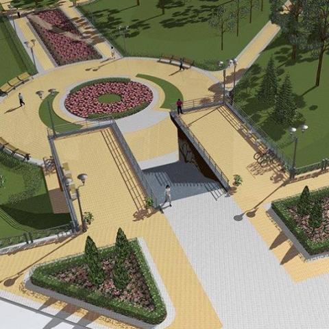 Когда откроется и как будет выглядеть обновленный парк Наталка в Киеве