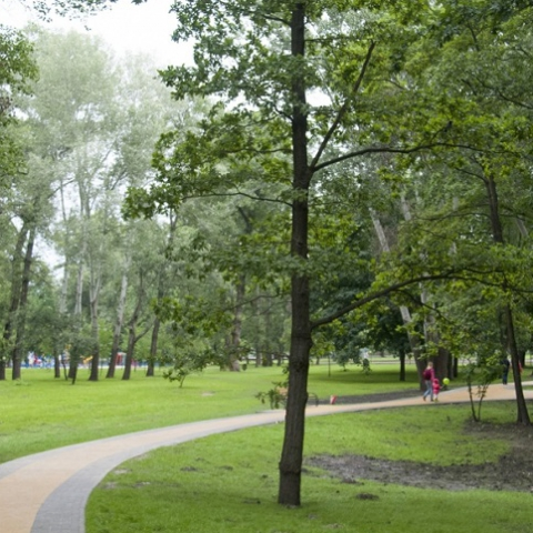 Когда откроют отремонтированный парк «Наталка»