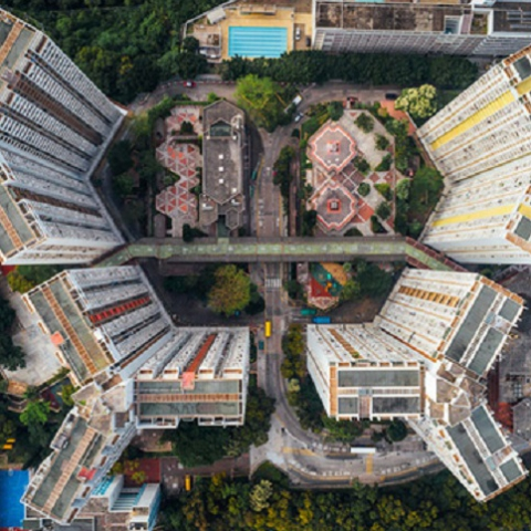Кварталы-муравейники Гонконга ФОТО
