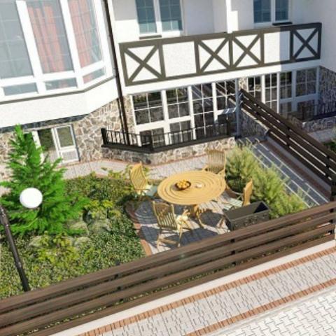 Квартиры с двориком в пригороде: топ-5 предложений