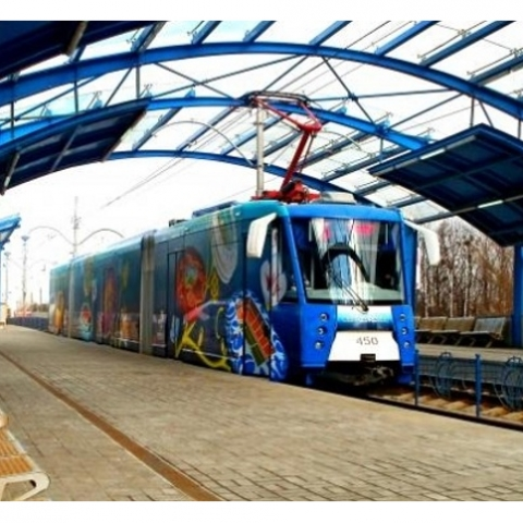 Линии трамвая до «Дворца спорта» в Киеве не будет