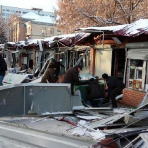Луценко приказал проверить законность сноса киевских МАФов