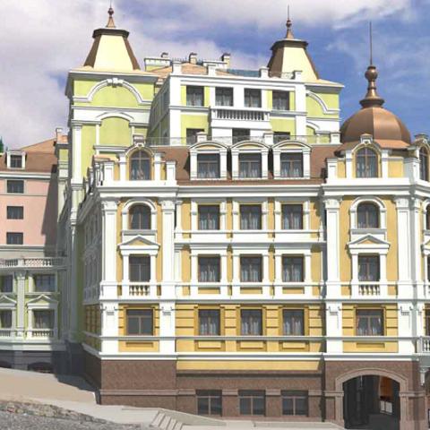 На Андреевском спуске разрешили строить отель