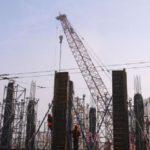 На Героев Днепра продолжается скандальное строительство ТРЦ
