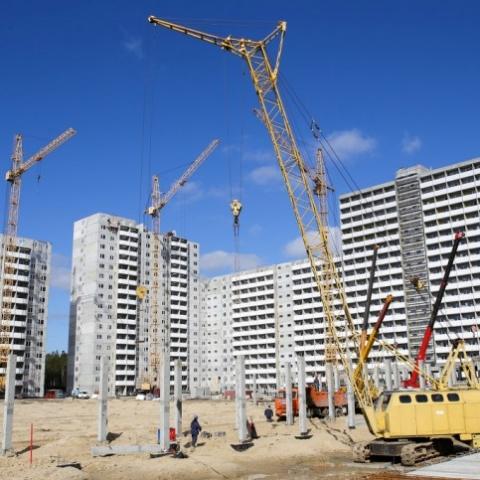На Київщині за квартал побудували на 30% більше житла