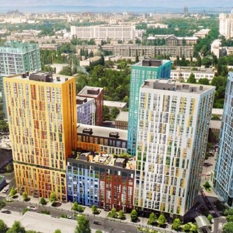 На крыше дома в ЖК «Малахит» состоялось торжественное открытие лаунж-зоны (видео)