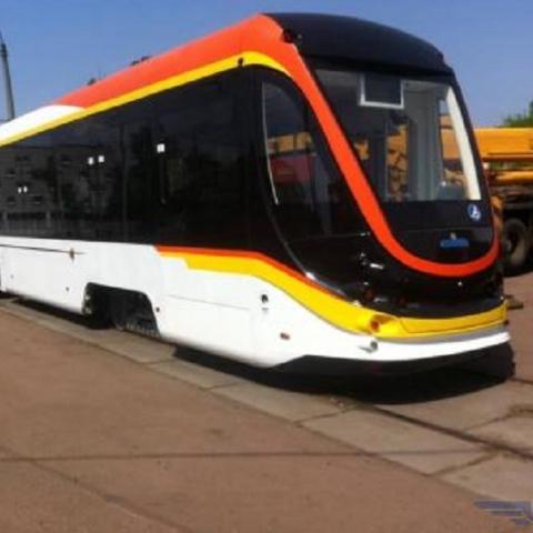На левом берегу Киева пройдут испытания нового трамвайного поезда