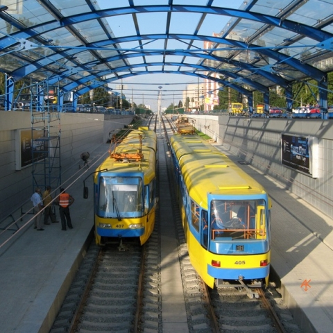 На линии скоростного трамвая проведут ремонт