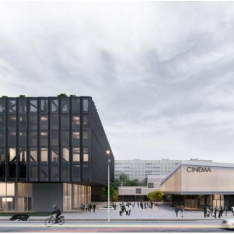 На месте кинотеатра «Загреб» построят новое здание с кинотеатром