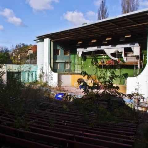 На місці кінотеатру в парку «Нивки» збудують багатоповерховий рекреаційний комплекс