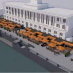 Возле Речного вокзала откроют фуд-холл из 20 морских контейнеров
