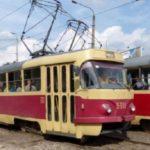 На площади Шевченко реконструируют трамвайную линию