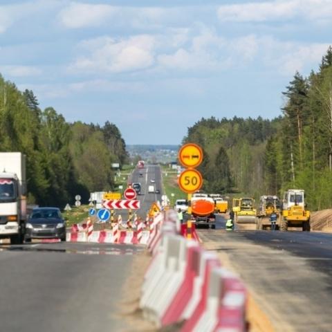 На подъездах в Киеву появятся пять двухуровневых развязок
