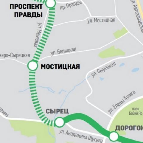 На протяжении трех лет в Киеве планируют построить две новые станции метро
