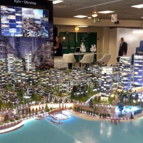 На Рыбальском острове в Киеве появится комплекс в формате Сity resort