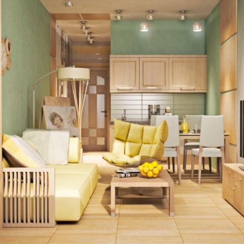 Назад к гостинкам: как грамотно обустроить квартиру в 20 квадратных метров