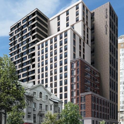 Нью-Йорский стиль: как была решена проблема углов и колонн в ЖК New York Concept House