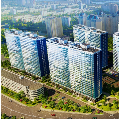 Новые кварталы: какие ЖК строят по утвержденным ДПТ Киева