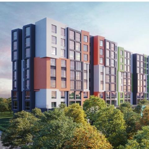 Новостройки пригорода Киева с интересными архитектурными решениями