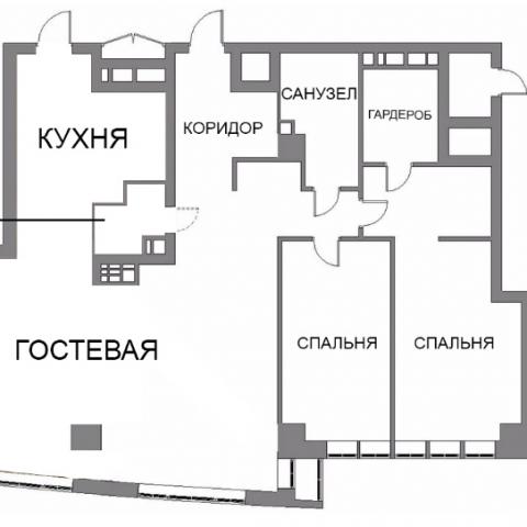 Объединяем две квартиры в ЖК Park Avenue VIP в одну: синергия функциональности и комфорта